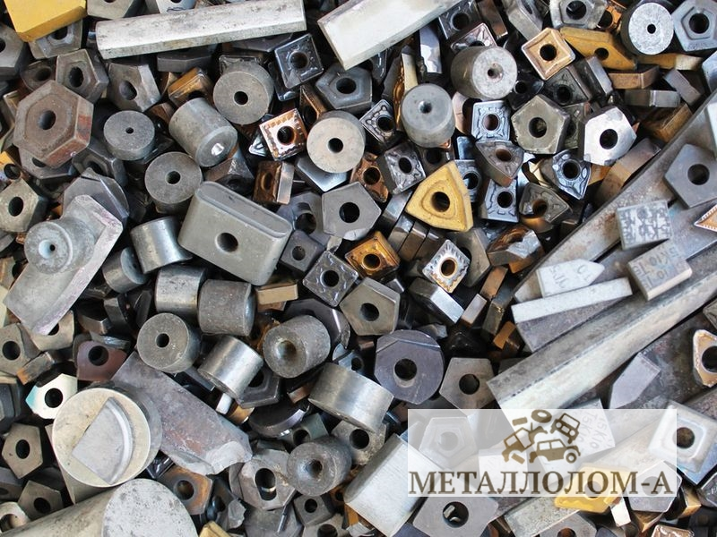 Фотографии металлолома твёрдых сплавов